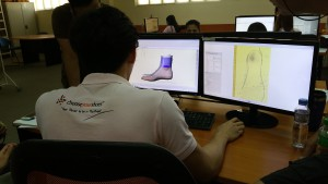 Bewerken van de 3D scan